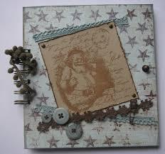 Handmade Scrapbook Albums Ooak Handmade Vintage Victorian Christmas Scrapbook Photo Album