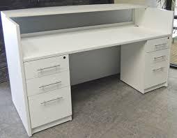 office table white gloss reception desk ebay white gloss