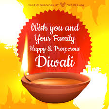 diwali wishes free vector 123freevectors