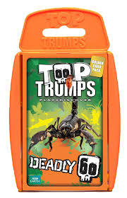 top trumps deadly 60 card game amazon co uk toys u0026 games