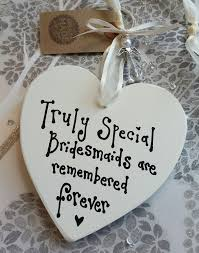details about personalised bridesmaid gift handmade heart guardian