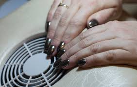 gel nails create perfect nails using nail forms how to use mirror powder on nails 14 steps with pictures