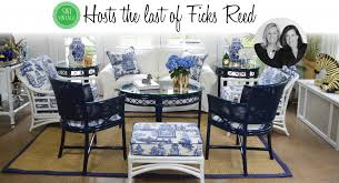 Bamboo Chairs For Sale Curating A Collection With Ficks Reed Rattan Furniture Swi Vintage
