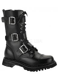womens size 12 fashion combat boots mens riot 12 combat boot by demonia leather ankle ranger boot