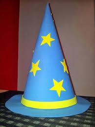 como hacer un sombrero de carton como hacer un sombrero de mago merlin de cartulina opapel