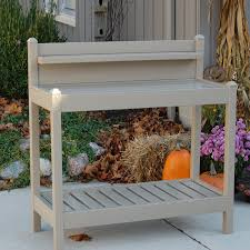 Rubbermaid Patio Table by Decor Great Beauty That Is Naturally With Potting Bench Lowes