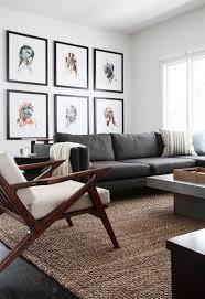 Gray Sofa Living Room Grey Living Room Home Design Interior