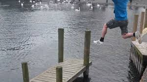 Hilarious Water Challenge Groom To Be Tries To Jump Lake Windermere On Stag