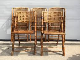 wicker folding chairs for cozy feeling myhappyhub chair design