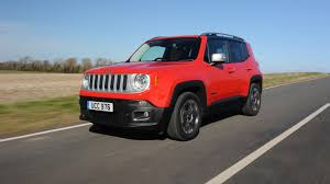 big red jeep 92 jeep renegade a big hit across europe