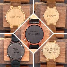 engraved wooden gifts engraved wooden watches