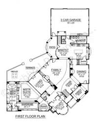 Inverness Tuscan Floor Plans Luxury House Plans