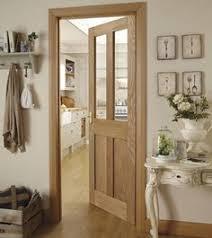 interior kitchen doors solid rustic oak ledged drzwi doors doors