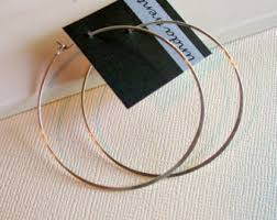 hammered hoops hammered hoops etsy
