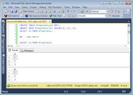 how to create temp table in sql temp tables scoping eclipsing sqlity net
