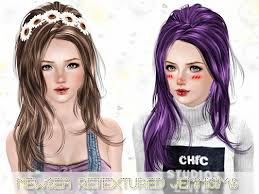sims 3 hair custom content sims 3 updates updates and finds from butterfly sims sims by