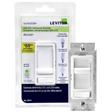 top home depot dimmer switch on decora sureslide universal dimmer