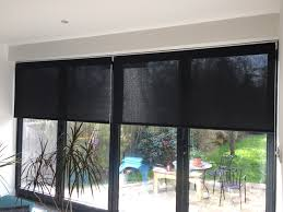 office blinds to hide the roller blinds and to match the