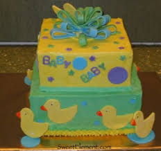 ducky baby shower cake sweetelement