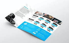 brochure templates adobe illustrator template tri fold brochure template illustrator