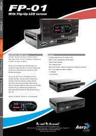 aerocool u003e products u003e peripheral u003e fp 01