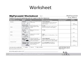 mypyramid worksheet free worksheets library download and print