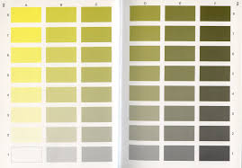 7 best images of yellow color chart with names different shades
