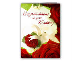 happy wedding wishes cards lovely wedding congratulation bi fold card design sle with