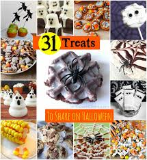 31 halloween treat ideas