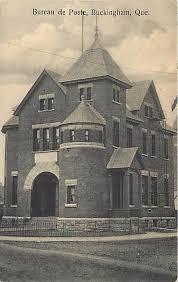bureau de poste pr騅ost bureau de poste post office buckingham outaouais heritage