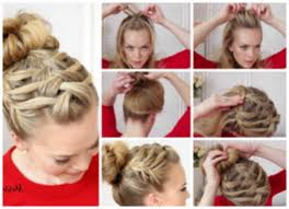 braided hairstyle instructions step by step french braid hairstyle step by step how to double waterfall triple