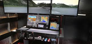 Flight Sim Desk Faa Approved Batd Touchtrainer Vx Fixed Wing Afforable And Rapid