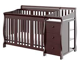 Graco Crib Mattress Size by Storkcraft Portofino 4 In 1 Convertible Crib And Changer With