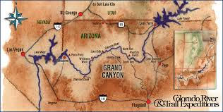grand map grand rafting trip green river rafting colorado river alaska