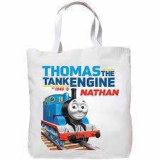 Thomas Tank Engine Halloween Costume Personalized Thomas U0026 Friends Tank Engine Tote Bag Walmart