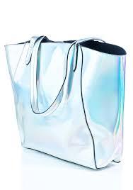 holographic bags hologram tote bag set dolls kill