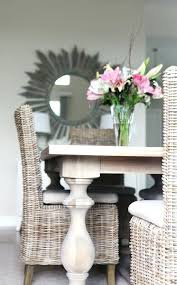 rattan dining room chairs ebay dining table with wicker chairs wicker dining room chairs rattan
