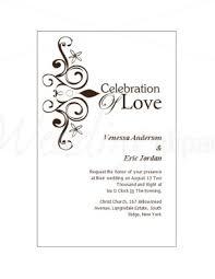 sle ideas wedding invitation card template beautiful designing