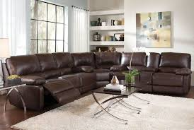 Recliners Sofas Sectional Sofa Design Leather Sectional Sofa Recliner Black
