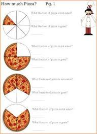 fractions math pizza fractions math and cooking activity cooking activities