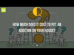 design an addition to your house how much does it cost to put an addition on your house youtube