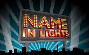 name in lights created in birmingham