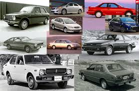 toyota american models history of the toyota corolla