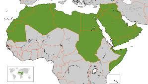 arab map file arab league map gif