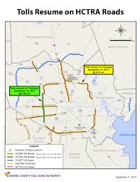 Transtar Map Hctra U2014 Harris County Toll Road Authority
