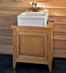 Wood Bathroom Vanity by Weathered Wood Bathroom Vanities For A Cottage Style Bathroom Are