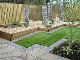 Garden Walls Ideas by Railway Tie Garden Wall