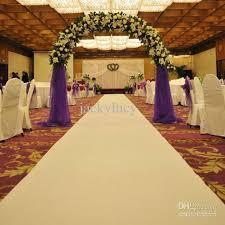 wedding aisle runners 2016 new wedding favors white carpet aisle runner for wedding