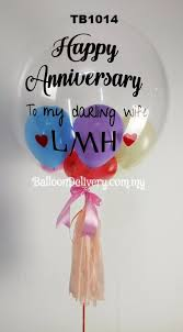helium balloon delivery in selangor tb1014 colorful transparent balloondelivery my