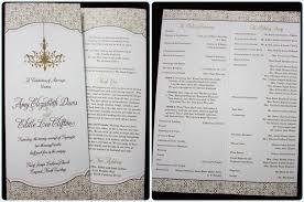 tri fold wedding program wordings results tri fold wedding program templates template psd